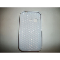 Protector Tpu Para Samsung Chat 2 S5270 Color Blanco!!!
