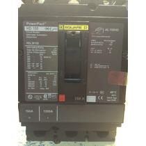 Interruptor Termomagnetico 3x150 Square D Hdl36150