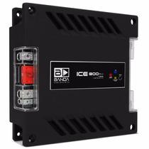 Módulo Amplificador Banda Ice 800w Rms 1 Canal 1 Ohm Mono