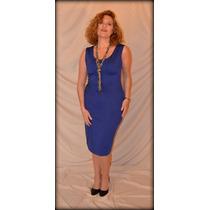 Vestido Jackie Azulino
