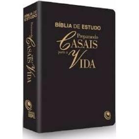 Bíblia De Estudo Preparando Casais Para Vida (preta)