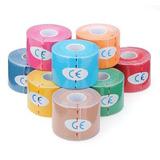 Bandagem Elastica Adesiva Tape 5cm X 5m