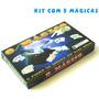 Kit De Mágicas - 5 Mágicas - Truques - Ilusionismo