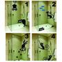 Adesivo Decorativo Gatos Para Box - Parede - Sala - Quarto