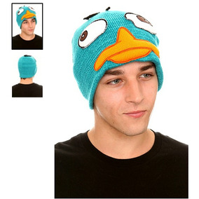 Hot Topic Gorro Phineas And Ferb Perry The Platypus Beanie