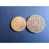 Moneda Chile 50 Pesos 1987 Cobre (c 12)