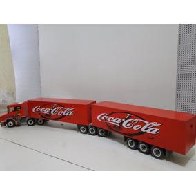 Show Carreta Bau Coca Cola Scania Bitrem Bem Comprido 9 Eixo