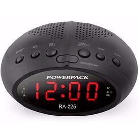 f394998e6dd Radio Relogio Digital Fm Despertador Duplo Alarme Bivolt - Rádios AM ...