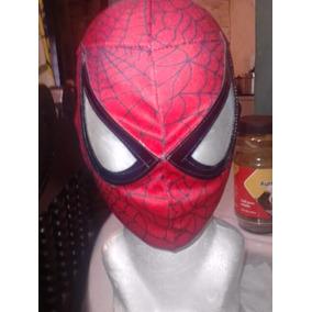 Mascara De Spiderman P/niño Hombre Araña Roja