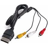 Cable Audio Y Video Para Xbox Clasico Envio Gratis!!