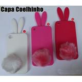 Capa Case Coelhinho Rabito Iphone 4 4s 5