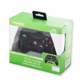 Controle Xbox One Com Fio Entrada P2 3,5mm Marca Dobe 1,8m