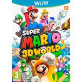 Juegos Digitales Wii U!! Mario 3d World!! Wii U