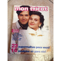 Revista Mon Tricot 23 Supermalhas 16 Modelos Masculinos