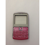 Carcaça Motorola Ex115 Rosa E Branco