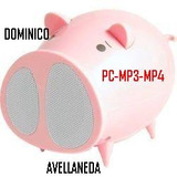 Radio Parlante Chancho Fm Usb Pig Pc Mp3 Mp4 Mp5 Ipod