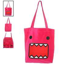 Hot Topic Bolsa Rosa / Pink Domo Plush Tote