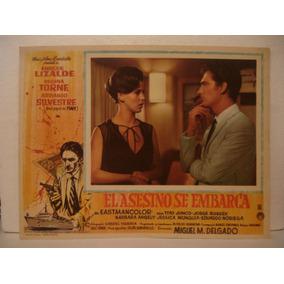 Enrique Lizalde , El Asesino Se Embarca , Cartel De Cine
