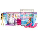 Partido De Barbie Avion Y Nave 2 En 1 Playset X01