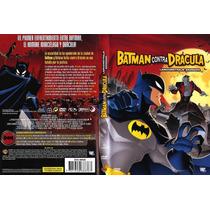 Dvd Anime Batman Contra Vs Dracula Tampico Madero Y Altamira