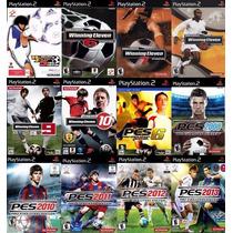 Pes 2013 Pro Evolution Soccer 13 Play 2 (kit 12 Jogos Ps2 We