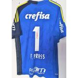 Camisa Autografada Palmeiras Prass - Futebol no Mercado Livre Brasil cd7bba1c7fe41