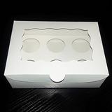 Caja Para 6 Mini Cupcakes 6 Mini Ponquesitos Dulces Macarons
