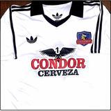 Camiseta Colo Colo Año 1980 Sponsor Cerveza Condor Caszely