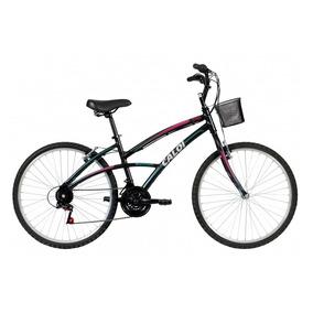 Bicicleta Bike Caloi 100 Sport Aro 26 Feminina Preta