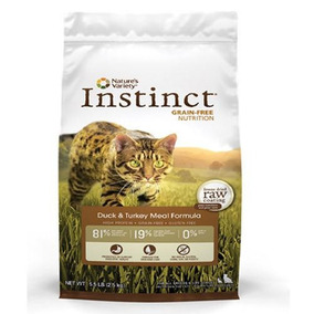 Alimento Natural Instinct Pato Y Pavo 5.5 Kg