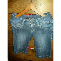 Jeans 3\4 Marca Machine