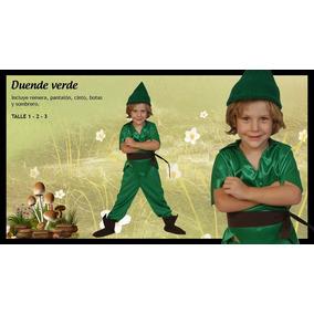 Disfraz Duende Simil Peter Pan Local Belgrano R