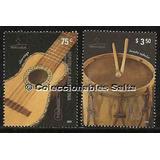 Instrumentos Musicales, Serie Mint P/mt 2772-3, Gj 3505-6