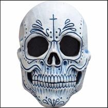 Mascara Latex Catrin Adulto Día Muertos Disfraz Halloween