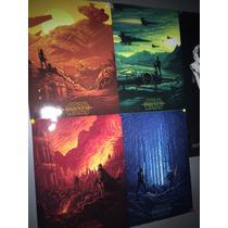Set Poster Star Wars Despertar De La Fuerza