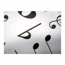 Tnt Estampado - Decorado - 10mts - Notas Musicais