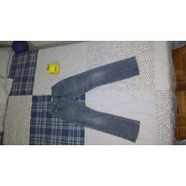 Calça Jeans Infantil Lacoste Tam4