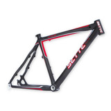 Quadro Fibra Carbono Mountain Bike Ellite Aro 26 Tam 17