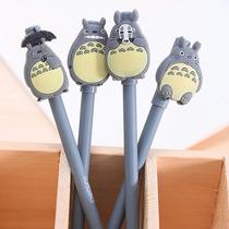 4 Bollígrafos Punto Fino, Gel, Totoro