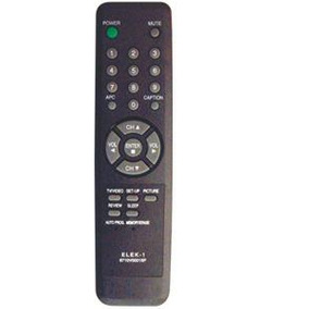 Control Universal Para Televisores Elektra