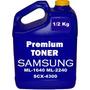 1/2 Kg Toner Tipo Samsung Ml-1640 Ml-2240 Scx-4300 Y Reset