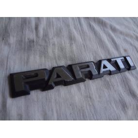 Emblema Parati 83/90 Original Vw Semi Nova