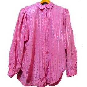 Elegante Blusa Seda Importada Ropa Dama