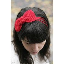 Cinta Cintillo Banda Tejido Crochet Niñas Y Bebes