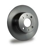 Kit X2 Discos De Freno Traseros Fiat Punto 1.4 16v Turbo