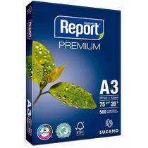 Papel Sulfite A3 Branco Report 75g Com 500 Folhas - Oferta