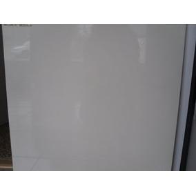 2 Cajas Piso Porcelanato Super Blanco Liso Brillante