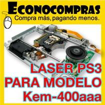 Laser Ps3 Modelo Kem-400aaa Un Lente Bloque Óptico Blu-ray !