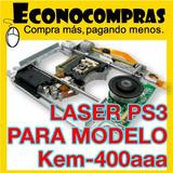 Laser Ps3 Modelo Kem-400aaa Un Lente Bloque Óptico Blu-ray