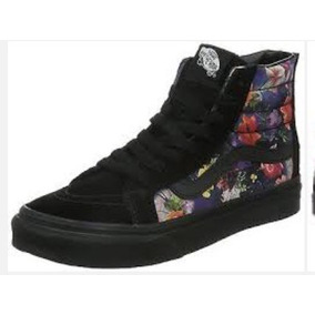 Vans Sk8 Hi Slim Zip (galaxy Floral ) R$ 379,00 N 35 E37 Di